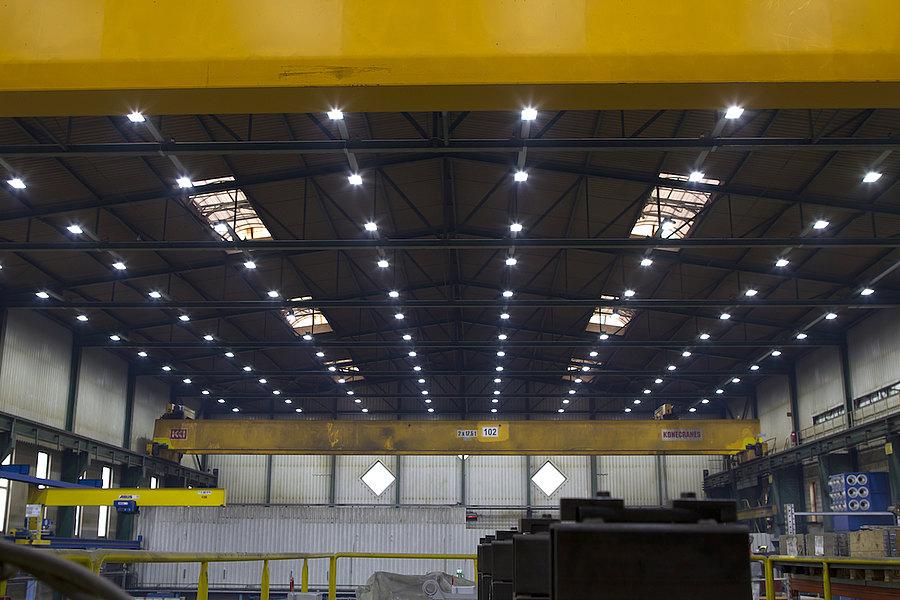 Hallenbeleuchtung - LemTec COB-LED